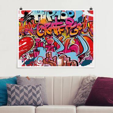 Poster - Hip Hop dei graffiti - Orizzontale 3:4