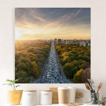 Stampa su tela - Berlino in autunno