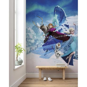 Carta da parati per bambini - Frozen Elsas Magic - Komar fotomurale