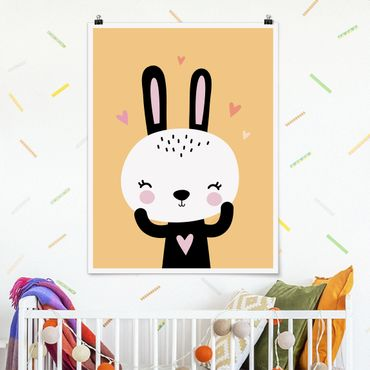 Poster - The Happy Bunny - Verticale 4:3