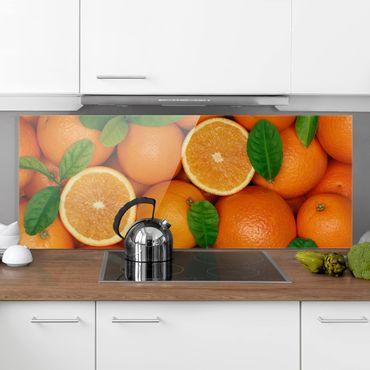 Paraschizzi in vetro - Juicy Oranges