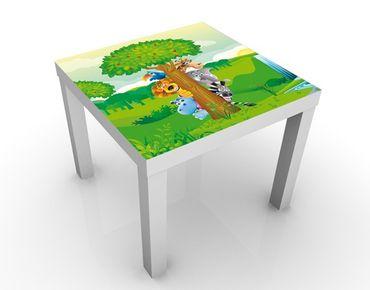 Tavolino design no.BF1 Jungle Animals