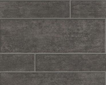Carta da parati - A.S. Création Best of Wood`n Stone 2nd Edition in Marrone Grigio Nero