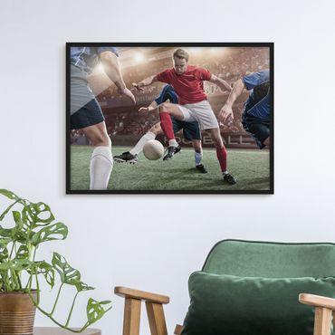 Poster con cornice - Football Rivals - Orizzontale 3:4