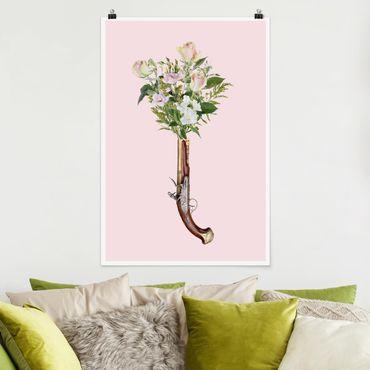 Poster - Jonas Loose - Pistola con i fiori - Verticale 3:2