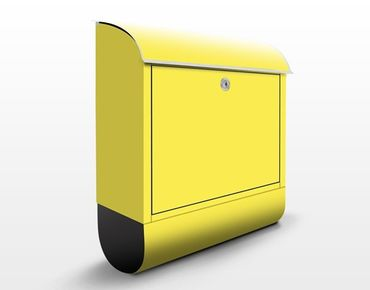 Cassetta postale Colour Lemon Yellow 39x46x13cm