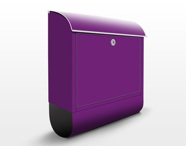 Cassetta postale Colour Purple 39x46x13cm