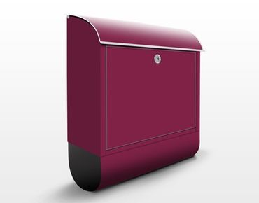 Cassetta postale Colour Wine Red 39x46x13cm