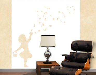 Adesivo murale no.CA24 Flower Girl II