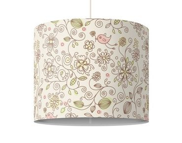 Lampadario design Birds And Flowers