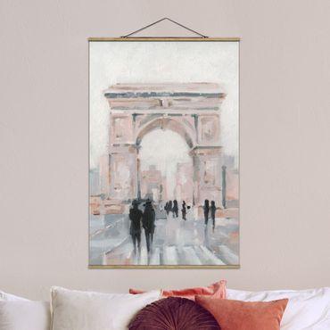 Foto su tessuto da parete con bastone - Walk In The Morning II - Verticale 3:2