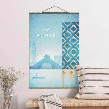 Foto su tessuto da parete con bastone - Poster viaggio - Venezia - Verticale 3:2