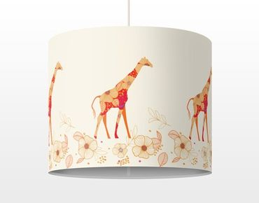 Lampadario design Floral Giraffe