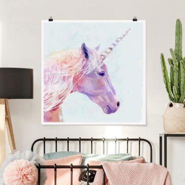 Poster - Mystic Unicorn I - Quadrato 1:1