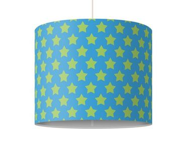 Lampadario design no.DS106 Stars Design Green