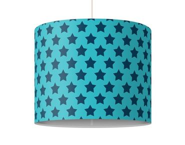 Lampadario design no.DS106 Stars Design Blue
