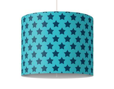 Lampadario design no.DS106 Stars Design Blue