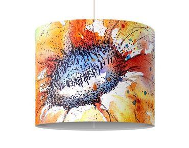 Lampadario design Painted Sunflower