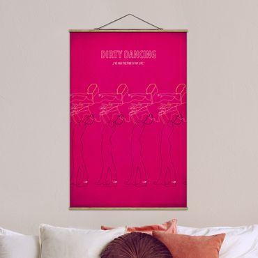Foto su tessuto da parete con bastone - Poster di film Dirty Dancing II - Verticale 3:2