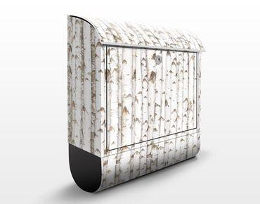 Cassetta postale no.YK15 Birch Wall 39x46x13cm
