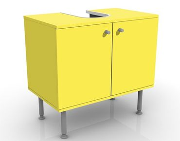 Mobile per lavabo design Colour Lemon Yellow