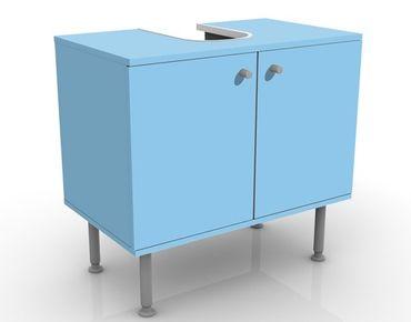 Mobile sottolavabo - Colore azzurro - Mobile bagno marittimo blu