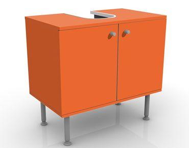 Mobile sottolavabo - Colore arancione - Mobile bagno arancione