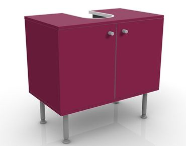 Mobile per lavabo design Colour Wine Red