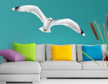 Adesivo murale no.YK5 Flying Gull