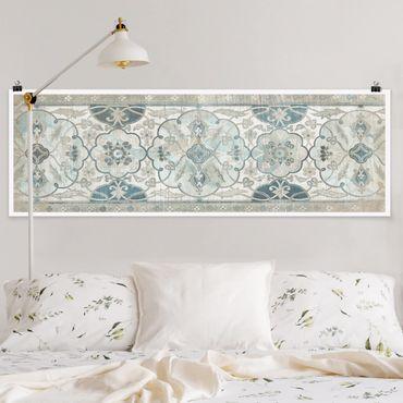 Poster - Comitato di legno persiano Vintage II - Panorama formato orizzontale