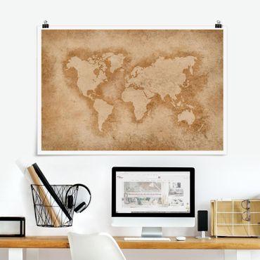 Poster - Programma di mondo antico - Orizzontale 2:3