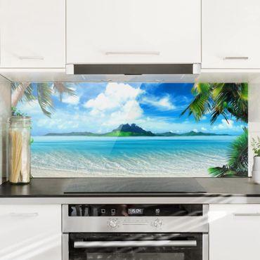 Paraschizzi in vetro - Dream Vacation - Panoramico