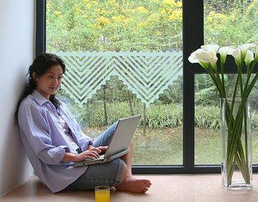 Pellicole per vetri - no.UL1060 Crochet I