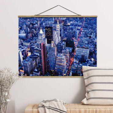 Foto su tessuto da parete con bastone - Grande Mela - Orizzontale 3:4