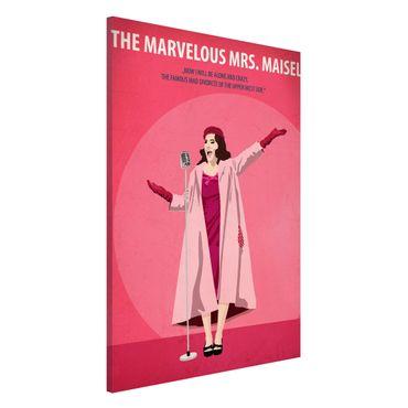 Lavagna magnetica - Poster del film La signora Marvelous Maisel - Formato verticale 2:3