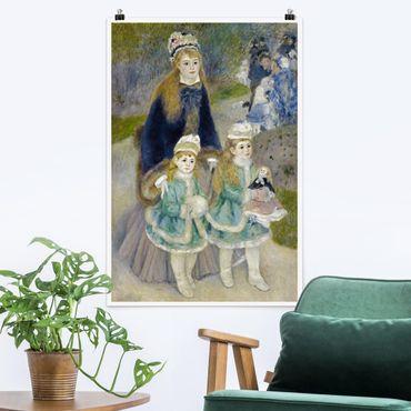 Poster - Auguste Renoir - Madre e figlio - Verticale 3:2