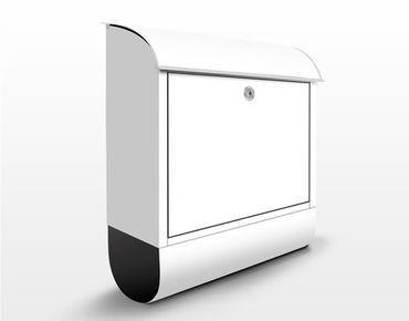 Cassetta postale Colour White 39x46x13cm