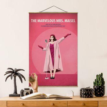Foto su tessuto da parete con bastone - Poster del film La signora Marvelous Maisel - Verticale 3:2