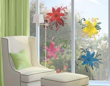 Adesivi da finestra no.BP20 Lily Dream Set