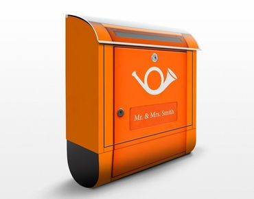 Cassetta postale personalizzata Letterbox In Europe 39x46x13cm