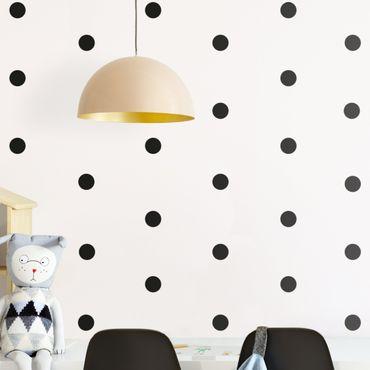 Adesivo murale - Circle Punti Confetti Set