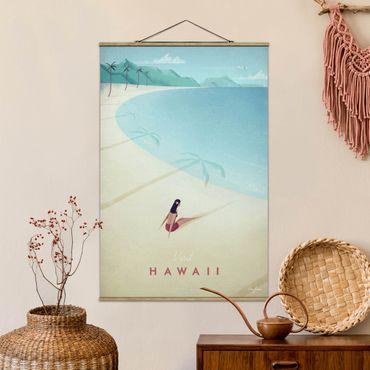 Foto su tessuto da parete con bastone - Poster Viaggi - Hawaii - Verticale 3:2