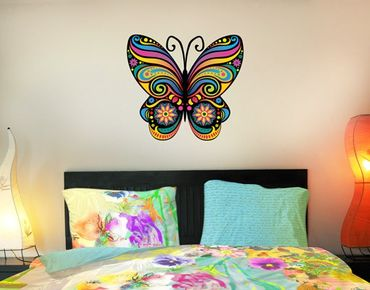 Adesivo murale no.BP22 Mandala Butterfly