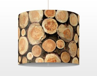 Lampadario design no.YK18 Log