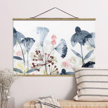 Foto su tessuto da parete con bastone - Wildflower Acquerello I - Orizzontale 2:3