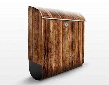 Cassetta postale Wooden Hut 39x46x13cm