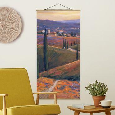 Foto su tessuto da parete con bastone - Paesaggio Nel pomeriggio ho - Verticale 2:1