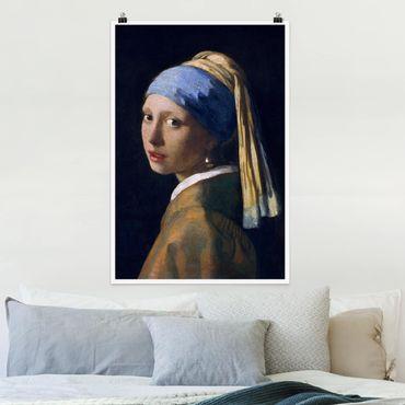 Poster - Jan Vermeer van Delft - Ragazza con l'orecchino di perla - Verticale 3:2