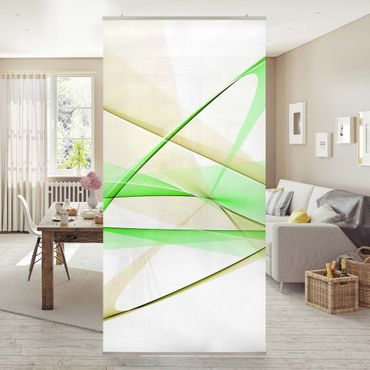 Tenda a pannello Transparent Waves 250x120cm