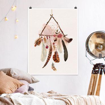 Poster - Dreamcatcher Triangle - Verticale 4:3